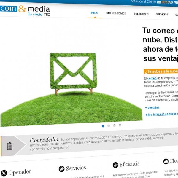 ComyMedia: nueva página web