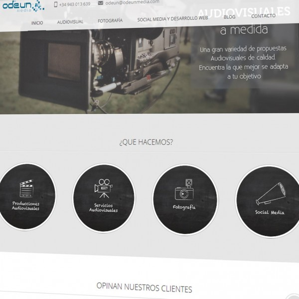 Odeun Media: nueva página web