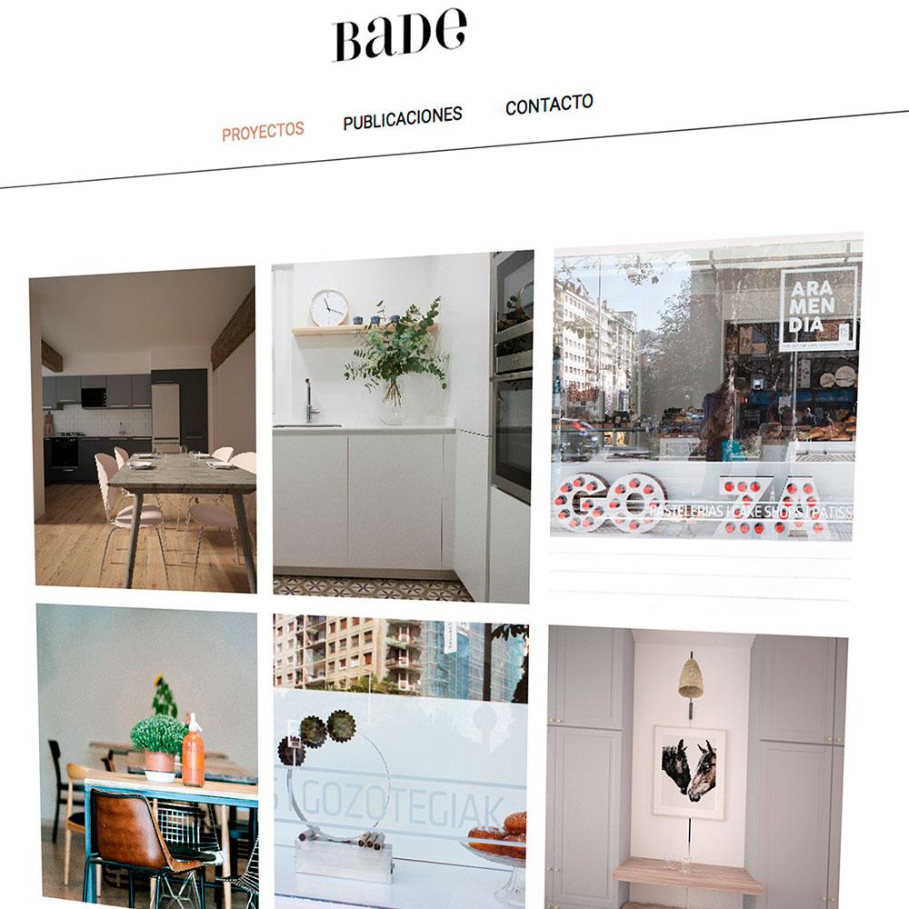 Bade interiorismo nueva p gina web arriaka for Paginas de interiorismo