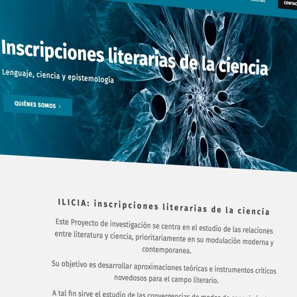 Ilicia: nueva página web